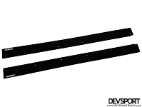 DevSport Side Skirt Wind Splitters (2006-2011 Honda Civic Coupe)