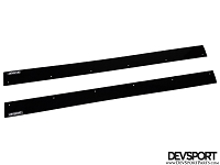 DevSport Side Skirt Splitters (2012-2015 Honda Civic Coupe)