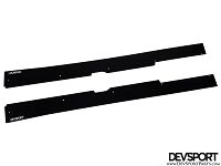DevSport Side Skirt Splitters (1997-2001 Honda Prelude)
