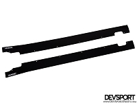 DevSport Side Rocker Panel Splitters (2013-2016 Subaru BRZ / Scion FR-S)