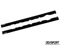 DevSport Side Skirt Splitters (2001-2006 BMW e46 M3)