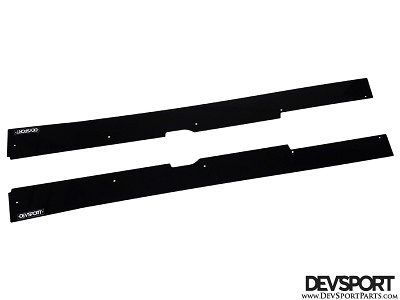 DevSport Side Skirt Wind Splitters (1997-2001 Honda Prelude)