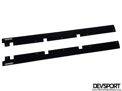DevSport Side Rocker Panel Splitters (2000-2009 Honda S2000)