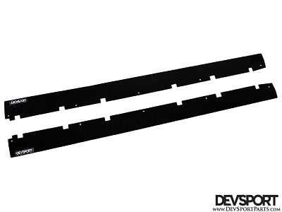DevSport Side Skirt Wind Splitters (2002-2007 Subaru Impreza WRX/STI)